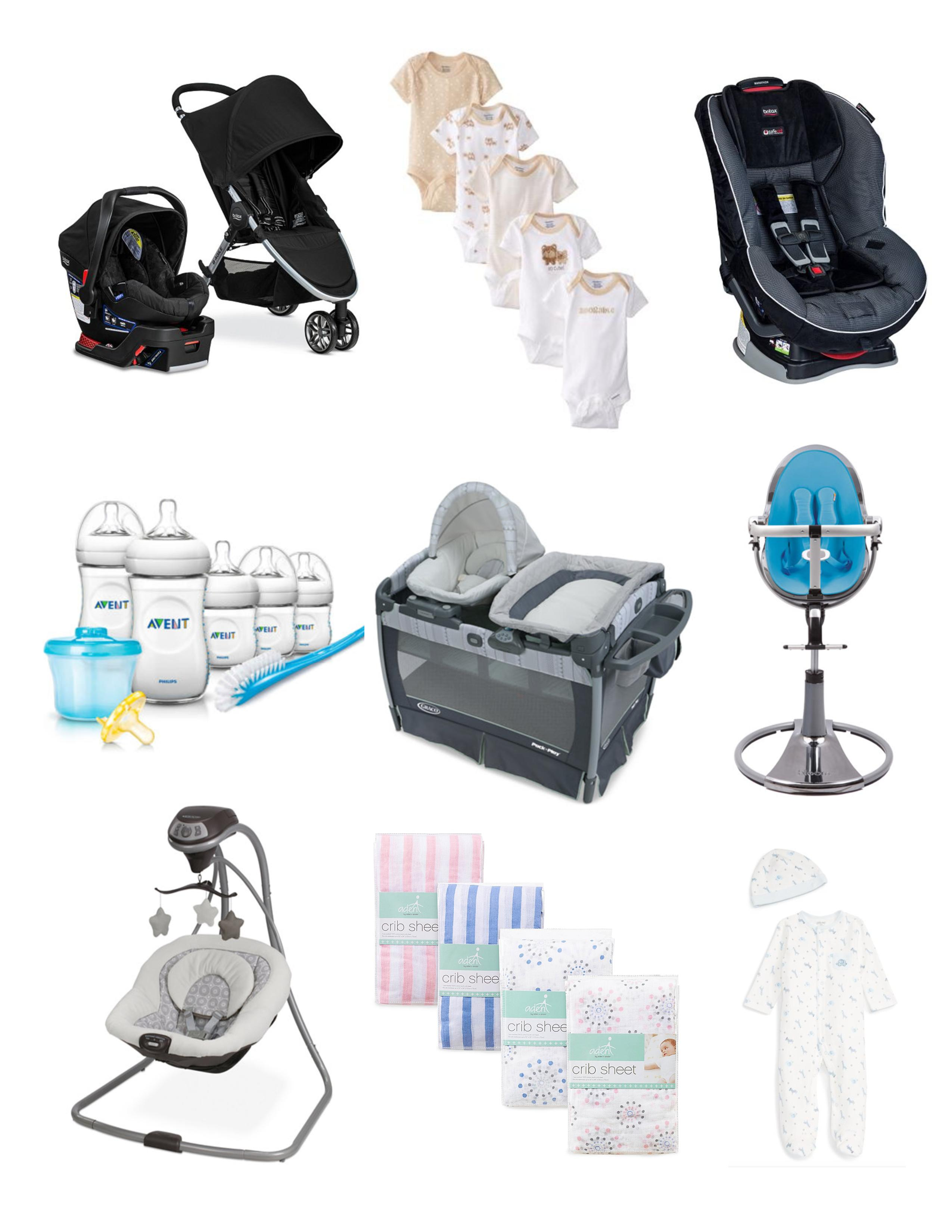 Baby Registry Essentials And Tips